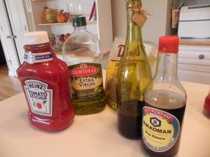 BB Sauce.Ingredients